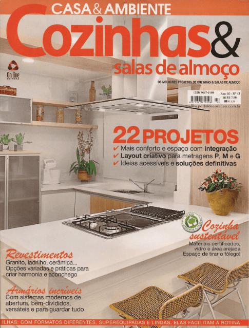 Cozinhas & Salas de Almoço - fev 2012 - 1Capa