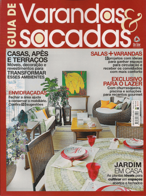Guia de Varandas & Sacadas  - ago 2012 - 1Capa