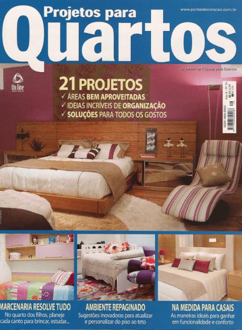 Projetos para Quartos - fev 2012 - 1Capa