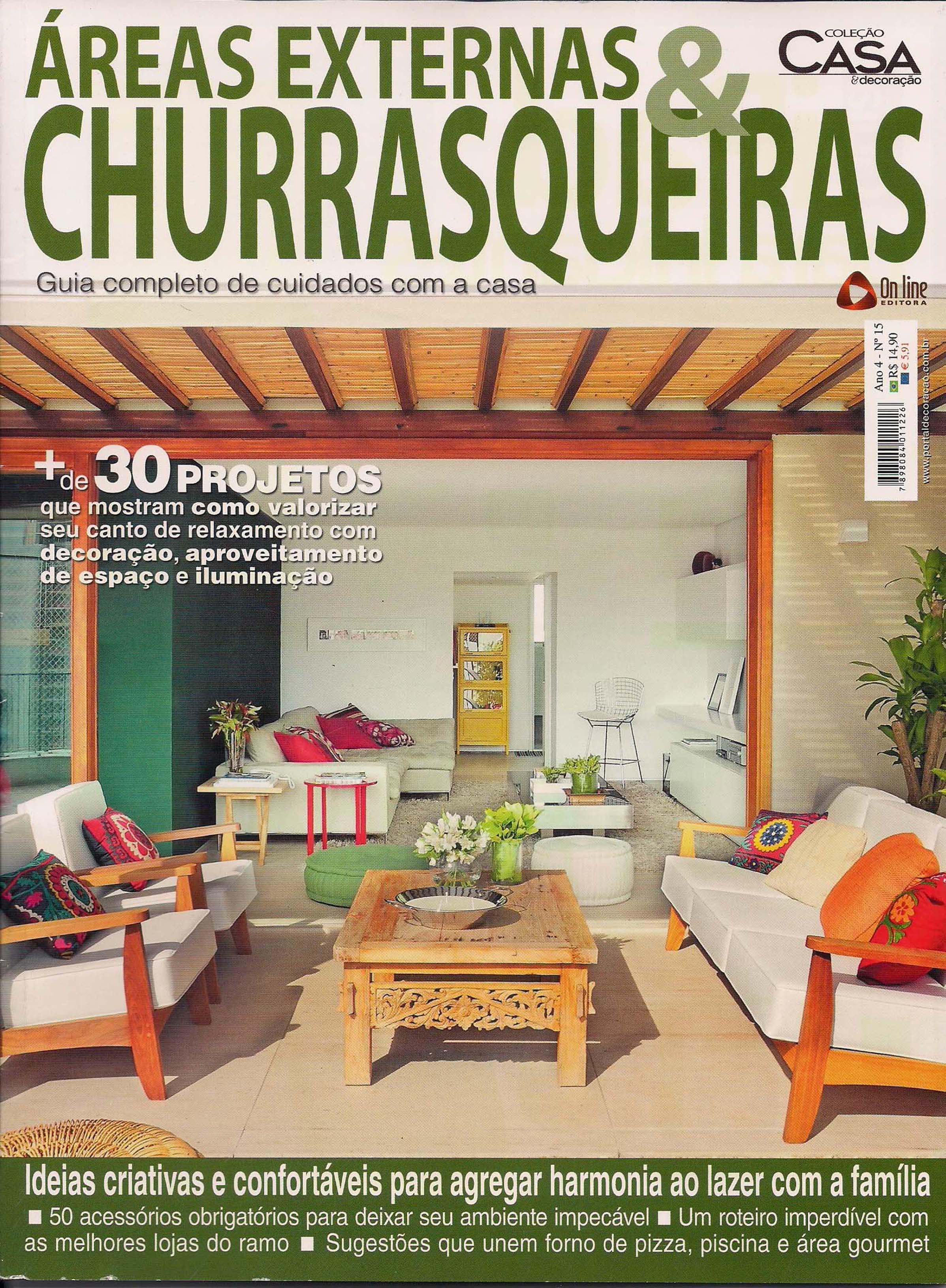 Áreas Externas & Churrasqueiras  - mar  2013 - 1Capa