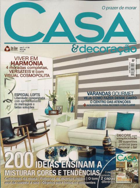 Casa & Decoração - ago 2012 - 1Capa