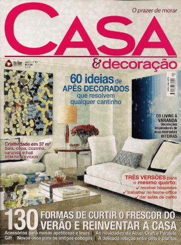 Casa & Decoração  - out  2012 - 1Capa