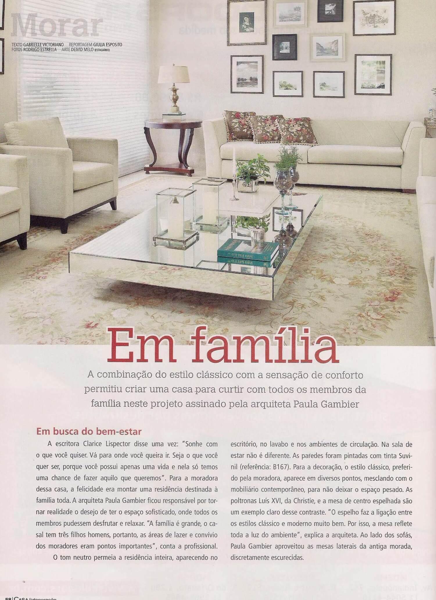 Casa & Decoracao   - out  2012 - 2