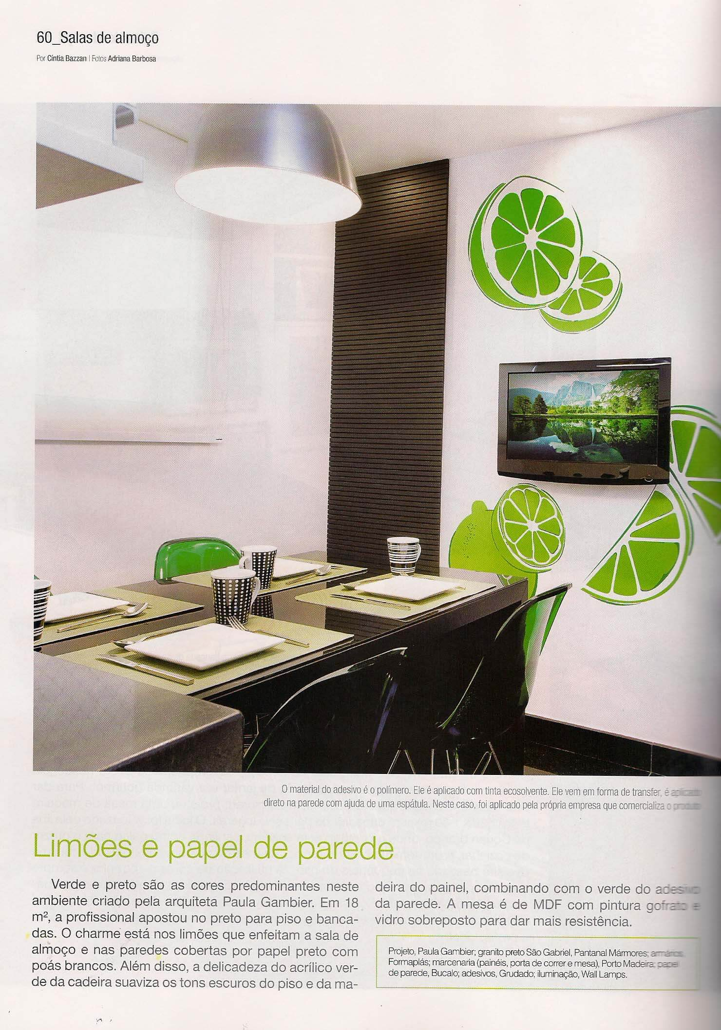 Cozinhas & Salas de Almoco - fev 2012 - 2
