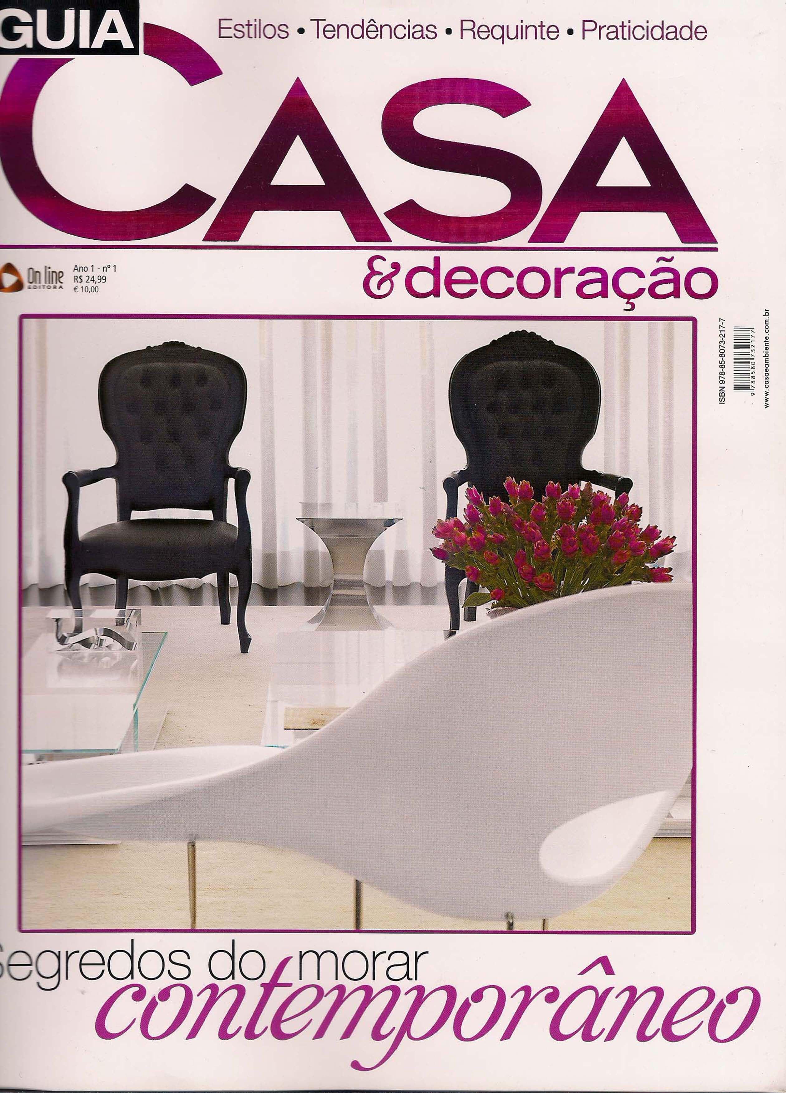 Guia Casa & Decoracao  - ago 2012 - 1Capa